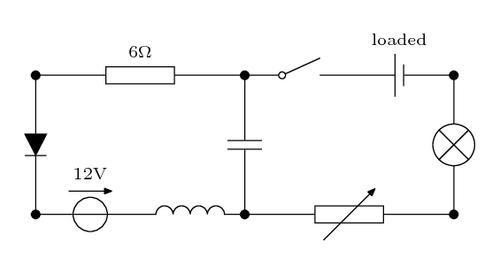 Electrical circuit – LaTeX CookbookLaTeX Cookbook